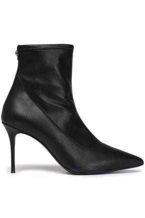 GIUSEPPE ZANOTTI Lucrezia leather sock boots