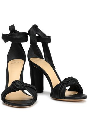 ALEXANDRE BIRMAN Clarita knotted leather sandals