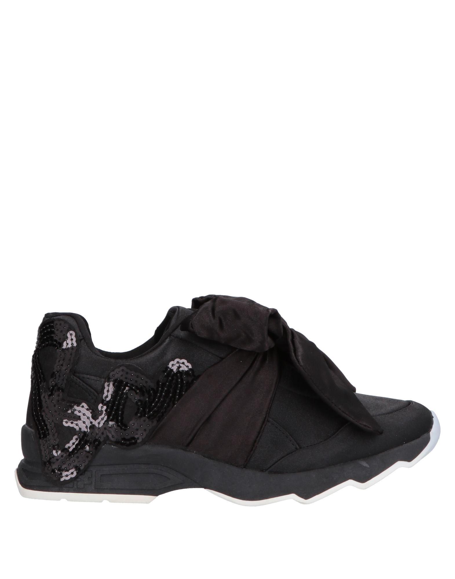 《送料無料》DORIAMARIA レディース スニーカー&テニスシューズ(ローカット) ブラック 36 紡績繊維