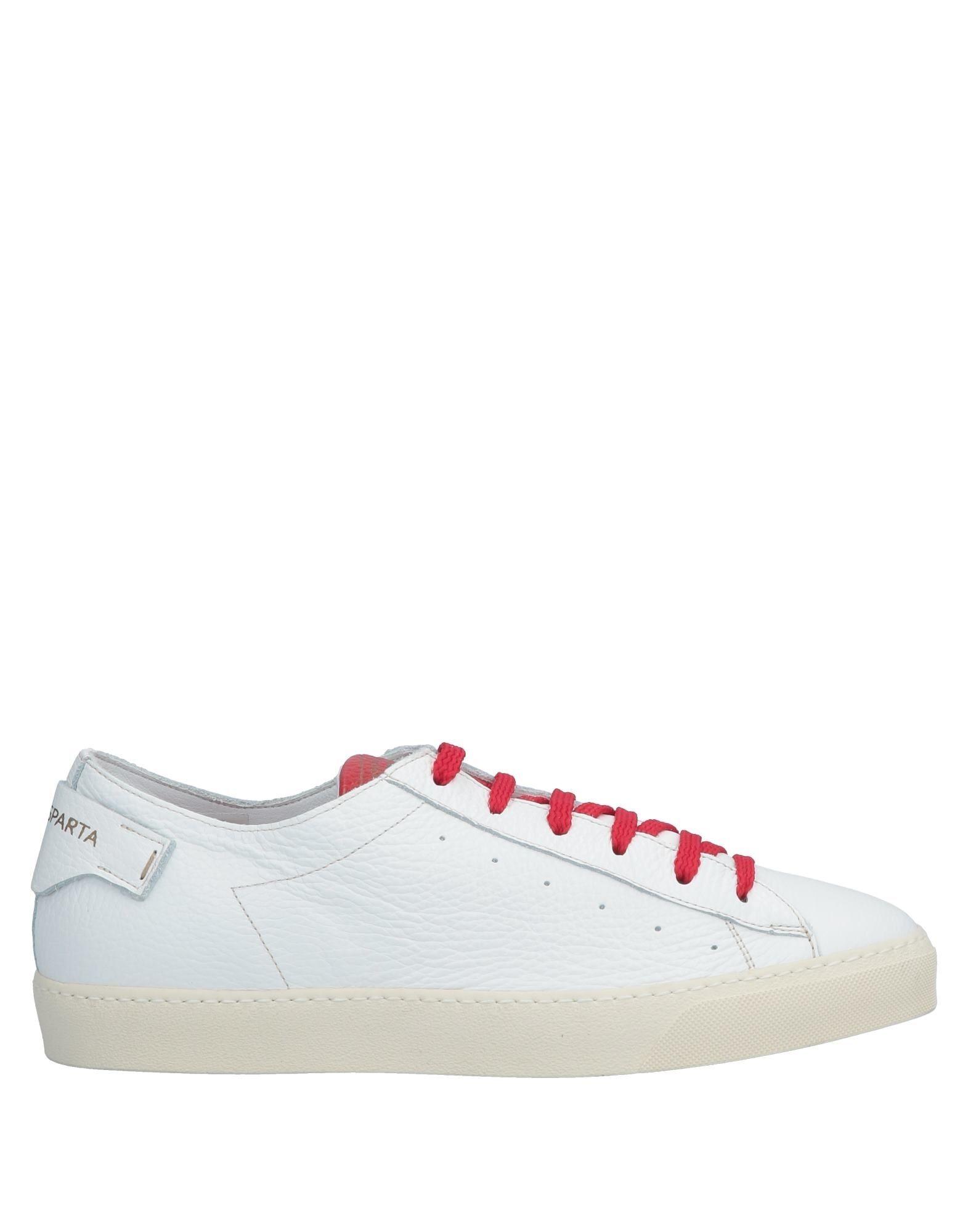 《セール開催中》D'ACQUASPARTA メンズ スニーカー&テニスシューズ(ローカット) ホワイト 44 革
