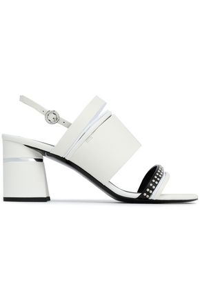 3.1 PHILLIP LIM Drum studded leather slingback sandals