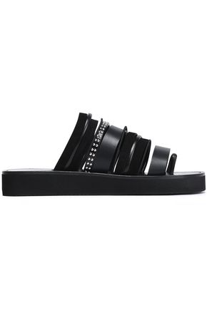 3.1 PHILLIP LIM Studded leather and suede sandals