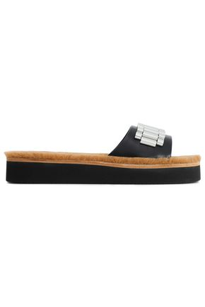 3.1 PHILLIP LIM Embellished leather slides