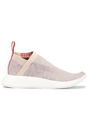 ADIDAS NMD CS2 Pk stretch-knit slip-on sneakers
