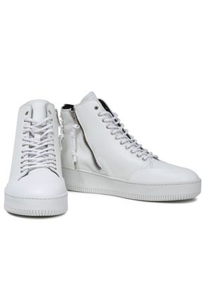 McQ Alexander McQueen Leather high-top sneakers