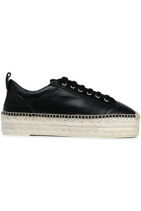 McQ Alexander McQueen Leather platform sneakers