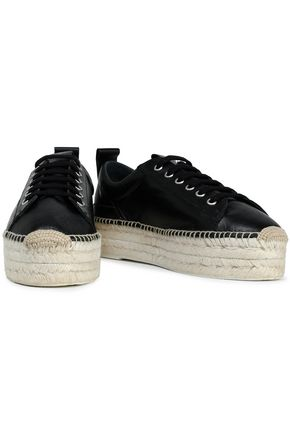 McQ Alexander McQueen Leather platform sneakers