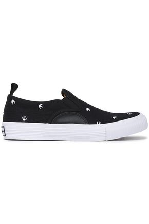 McQ Alexander McQueen Printed canvas sneakers