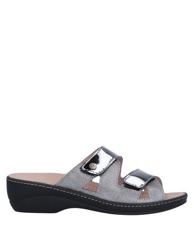 Купить Женские сандали  свинцово-серого цвета