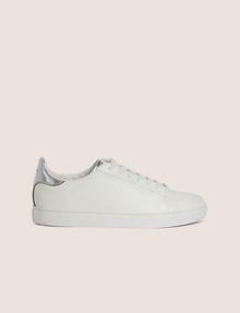 ARMANI EXCHANGE METALLIC DETAIL LOW-TOP SNEAKER Sneakers [*** pickupInStoreShippingNotGuaranteed_info ***] f