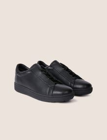 ARMANI EXCHANGE HIDDEN LACE SNAKE-EFFECT LOW-TOP SNEAKER Sneakers [*** pickupInStoreShippingNotGuaranteed_info ***] r