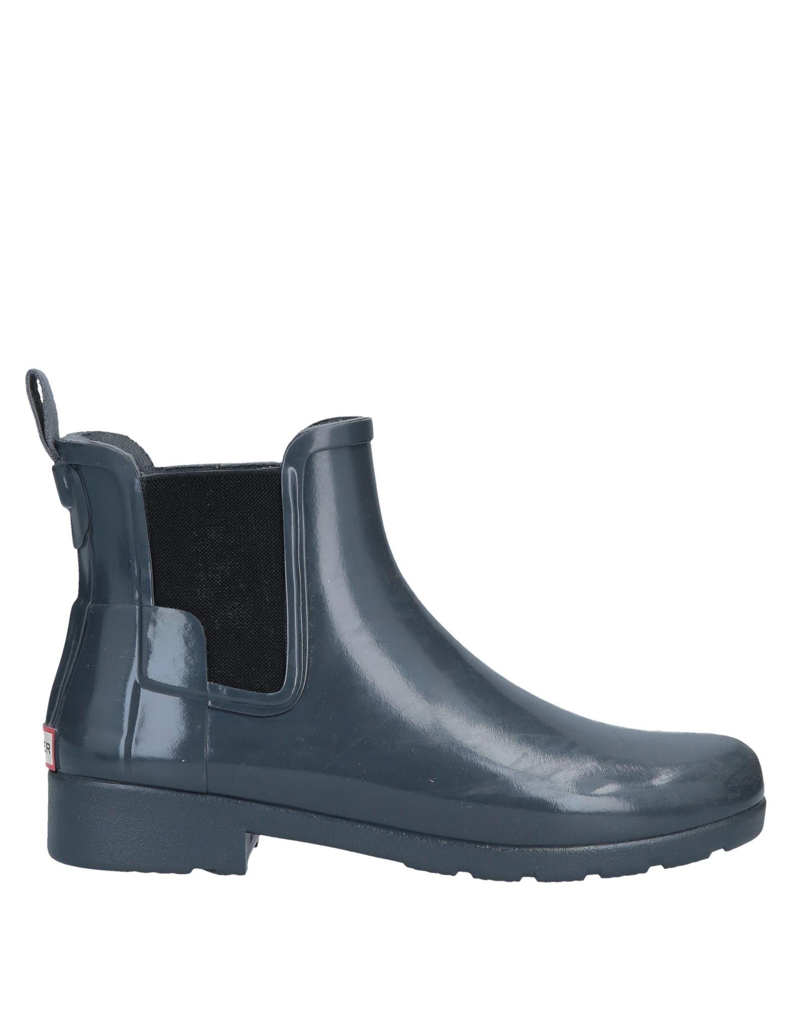HUNTER Полусапоги и высокие ботинки grey mer полусапоги и высокие ботинки