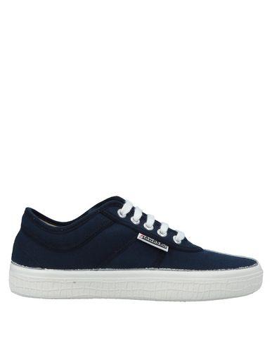 Купить Низкие кеды и кроссовки от KAWASAKI темно-синего цвета