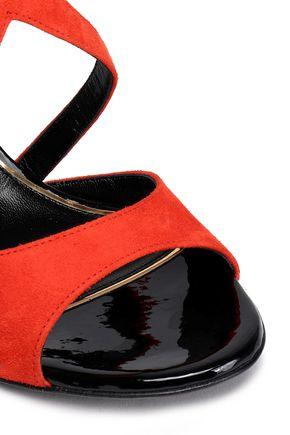 LANVIN Suede sandals