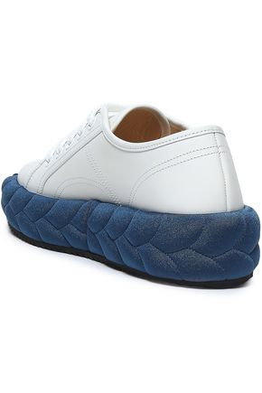 MARCO DE VINCENZO Leather sneakers