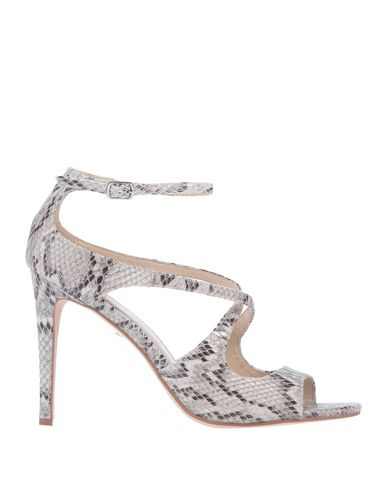 Фото - Женские сандали AQUARELLE светло-серого цвета