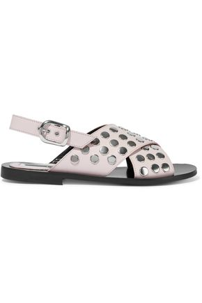 McQ Alexander McQueen Studded leather sandals