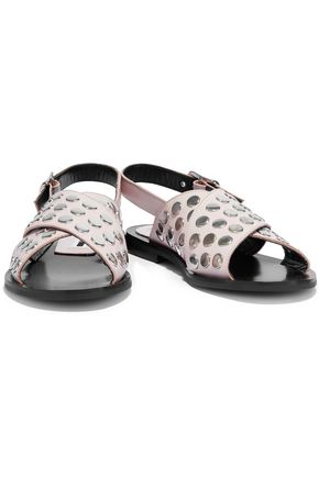 McQ Alexander McQueen Studded leather sandals