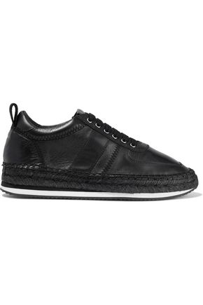 McQ Alexander McQueen Leather espadrille sneakers