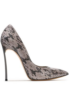 CASADEI Snake-skin pumps acc27ad301d