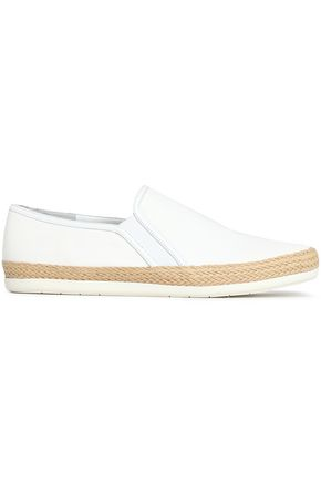 VINCE. Acker canvas slip-on sneakers