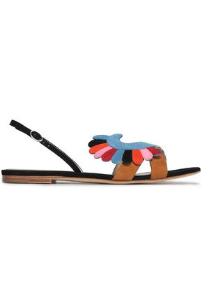 PAULA CADEMARTORI Embellished suede sandals