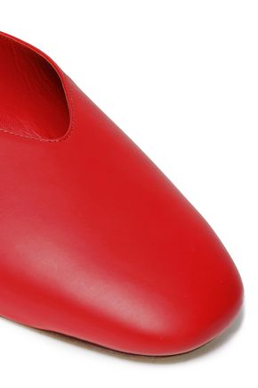 VINCE. Levins leather slippers