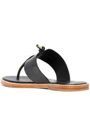 VINCE. Knotted leather sandals