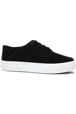 VINCE. Velvet sneakers