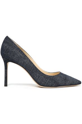 JIMMY CHOO Romy denim pumps