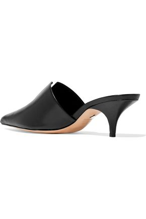 SCHUTZ Ivna leather mules
