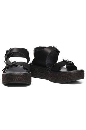 1e88e7a16c9b ANN DEMEULEMEESTER Suede platform sandals
