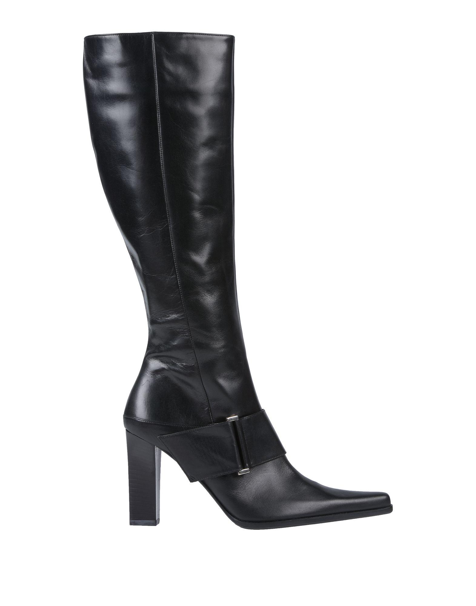 《送料無料》MISS ROSSI レディース ブーツ ブラック 36.5 革