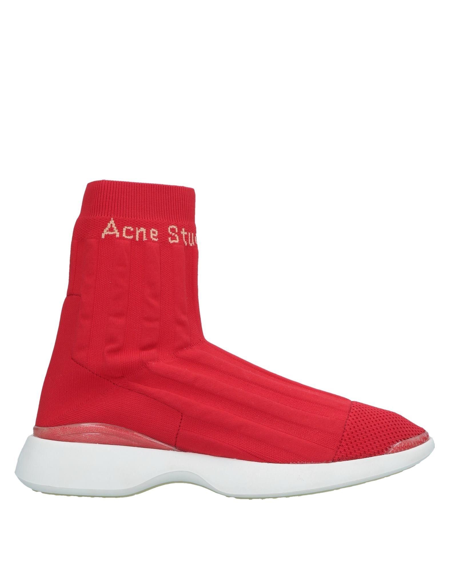 ACNE STUDIOS Высокие кеды и кроссовки native высокие кеды и кроссовки