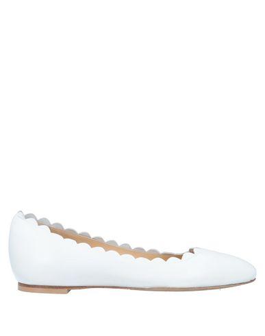 Фото - Женские балетки  белого цвета