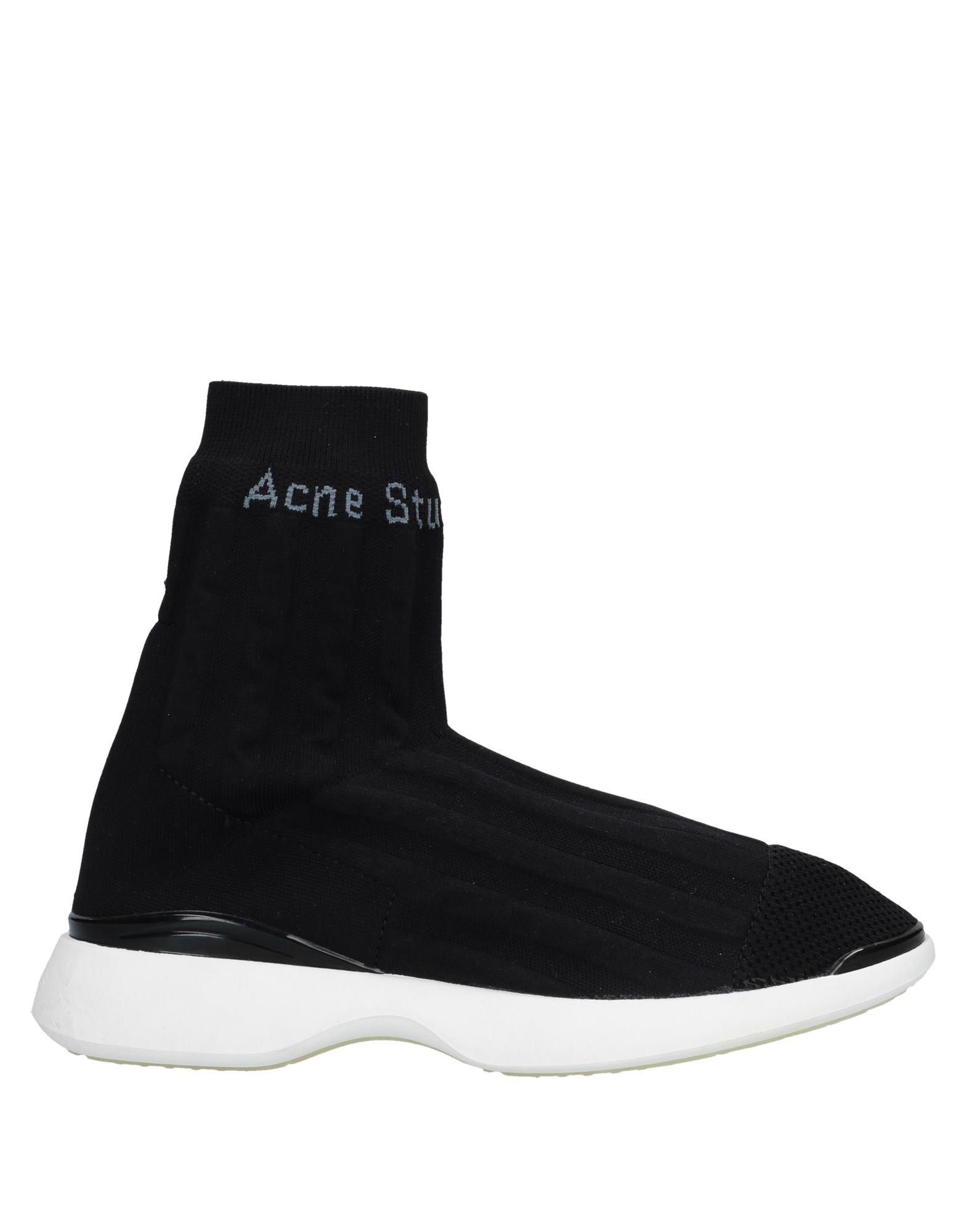 ACNE STUDIOS Высокие кеды и кроссовки