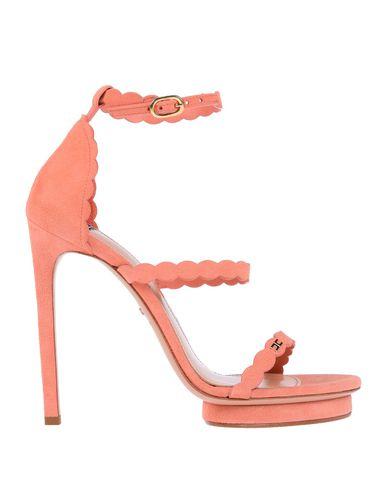 Фото - Женские сандали  пастельно-розового цвета