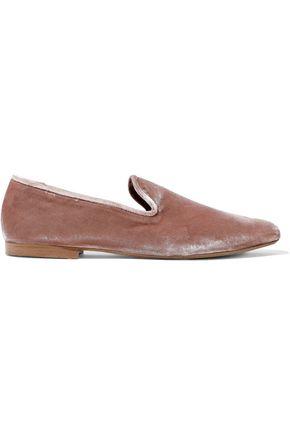 VINCE. Bray velvet slippers