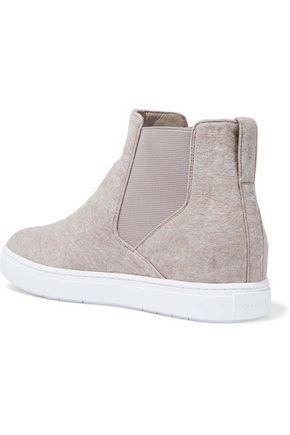 VINCE. Newlyn wool-blend felt slip-on sneakers