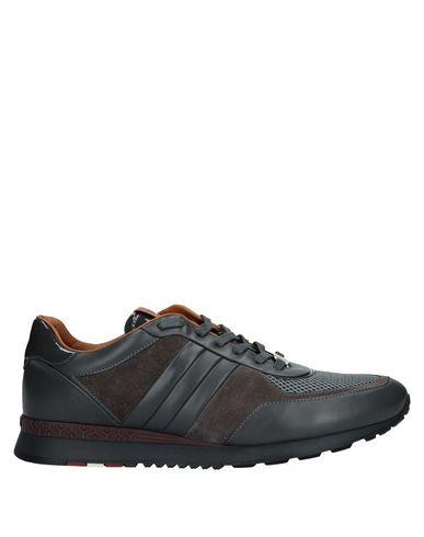 Купить Низкие кеды и кроссовки свинцово-серого цвета
