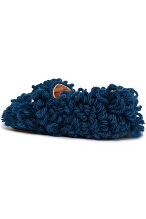 ANYA HINDMARCH Embellished wool slippers