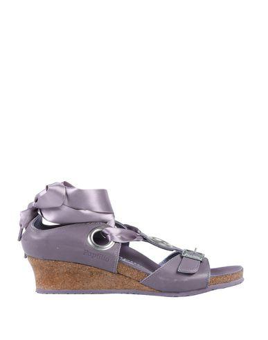Фото - Женские сандали  сиреневого цвета