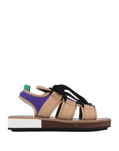 Фото - Женские сандали  фиолетового цвета