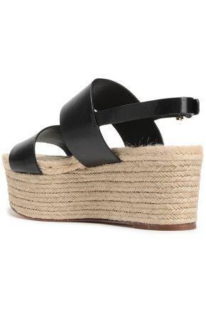 MICHAEL KORS COLLECTION Leather platform sandals
