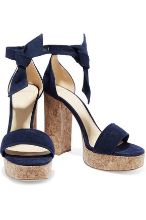 35e65cc1839 ALEXANDRE BIRMAN Celine suede and cork platform sandals