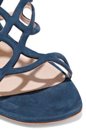 SCHUTZ Nivia cutout nubuck sandals