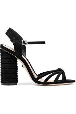 SCHUTZ Soraya knotted nubuck sandals