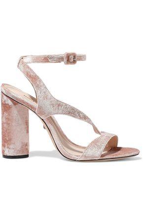 SCHUTZ Rutte velvet sandals