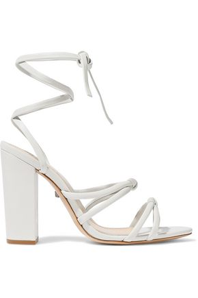 SCHUTZ Lohanna knotted leather sandals