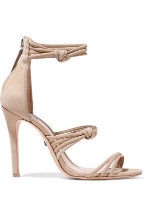 8c0fb041a1c SCHUTZ Suely knotted nubuck sandals
